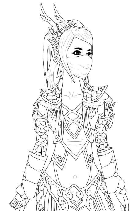 Line Art Fashion : Kirin fashion line art by wheelz speed on deviantart