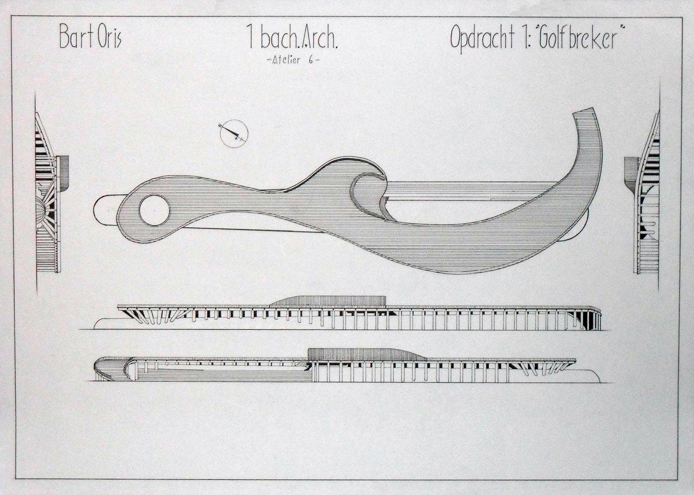 Bart Oris (effimos) - school projects 1st bachelor arch. Oo1_tech__tekening_fase_A___3_by_Effimos