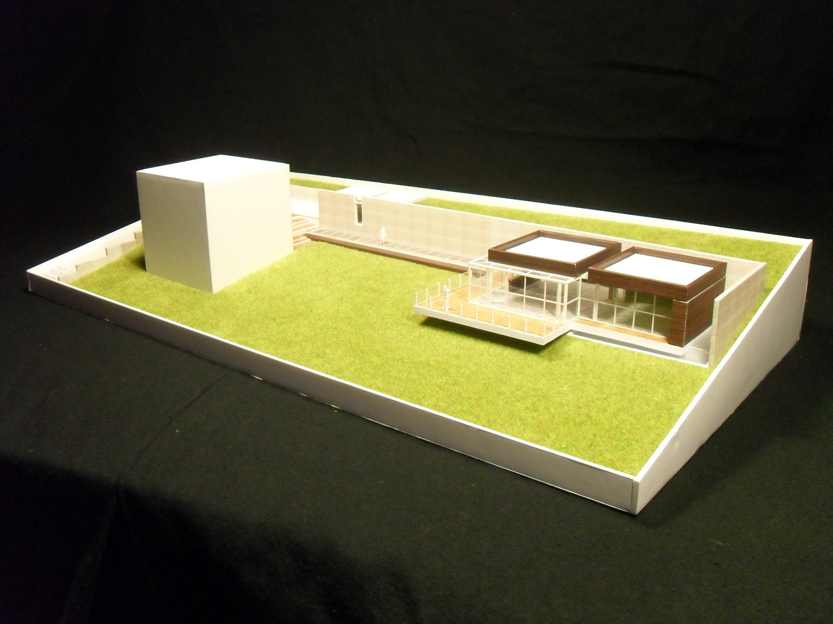 Bart Oris (effimos) - school projects 1st bachelor arch. Oo2_maquette_1_by_Effimos