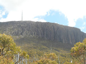 View of Mt Wellington by GreenEggsAndHam1998
