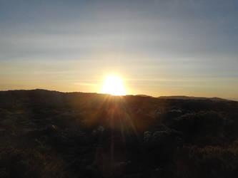 Sunset on the Mountain v2 by GreenEggsAndHam1998