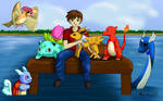 Pokemon Team II by MeganElf