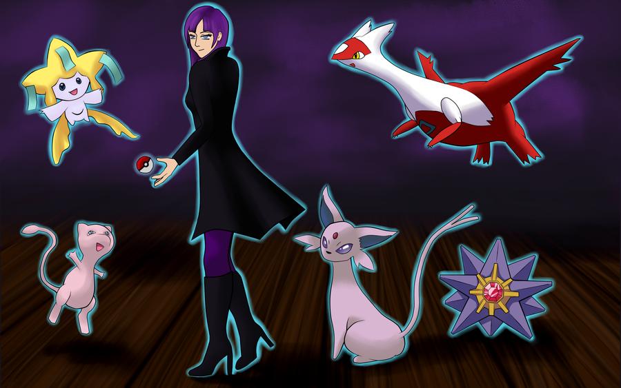 psychic trainer princess by meganelf on deviantart