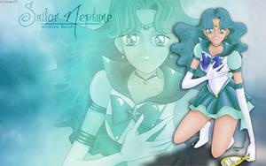 Sailor Naptune Wallpaper by MeganElf