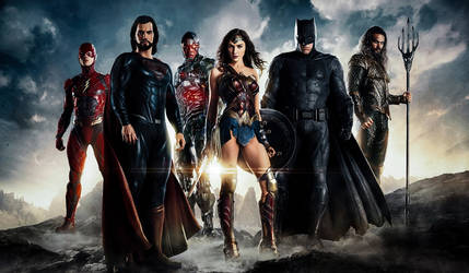 Justice League Retouched by VMR-PHOTOS