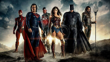 Justice League Retouched 2 by VMR-PHOTOS