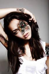 Cyborg Beauty by VMR-PHOTOS