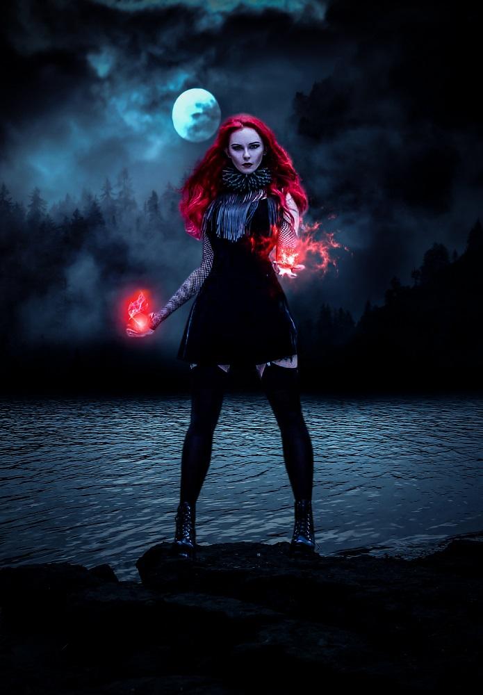 Dark Scarlet Cosplay by VMR-PHOTOS