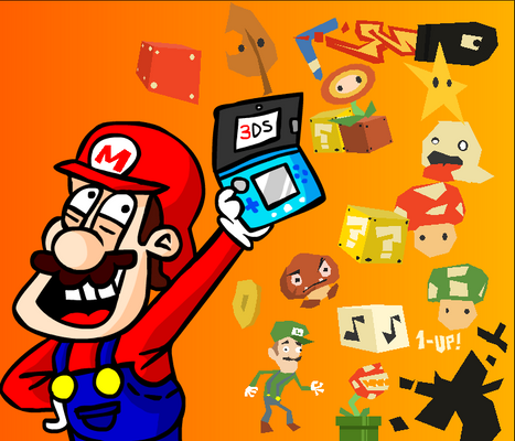 INDY COLLAB MARIO FAN-ART