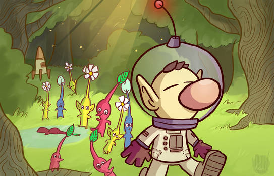 Pikmin Wallpaper
