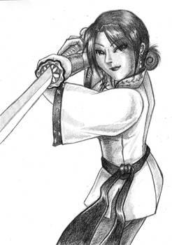 The Swordswoman