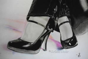 Shiny Purple Shadows by ladysofhousen