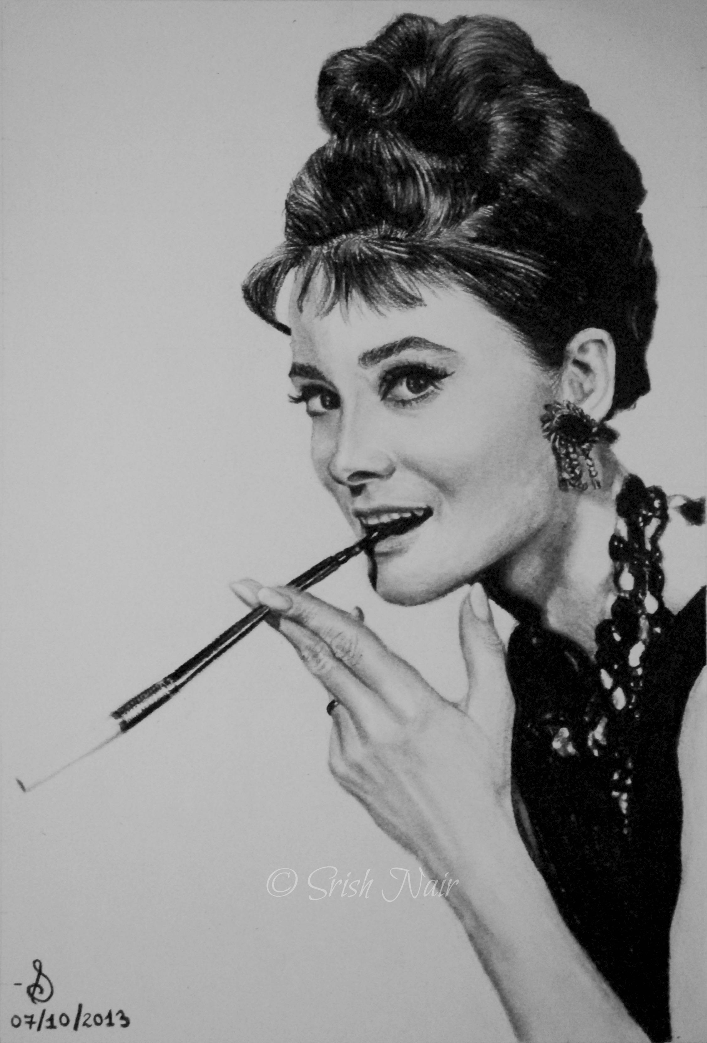 Audrey Hepburn by ladysofhousen