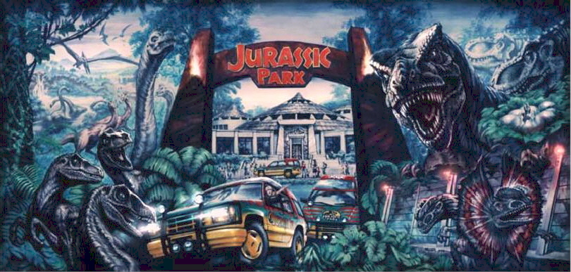 Jurassic Park Wallpaper By Chicagocubsfan24