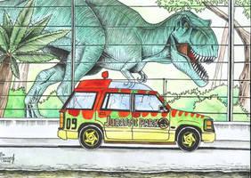 jurassic park fan art by chicagocubsfan24
