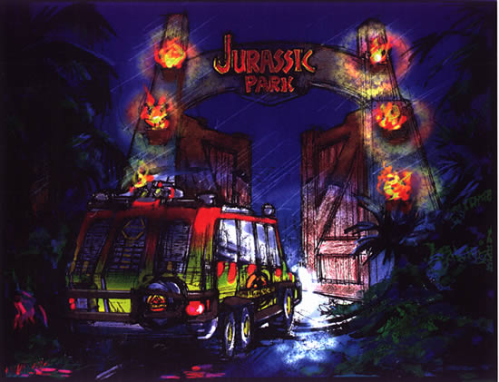 Jurassic Park Jeep Safari By Chicagocubsfan24 On Deviantart