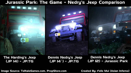jurassic Park the game Nedry's Jeep