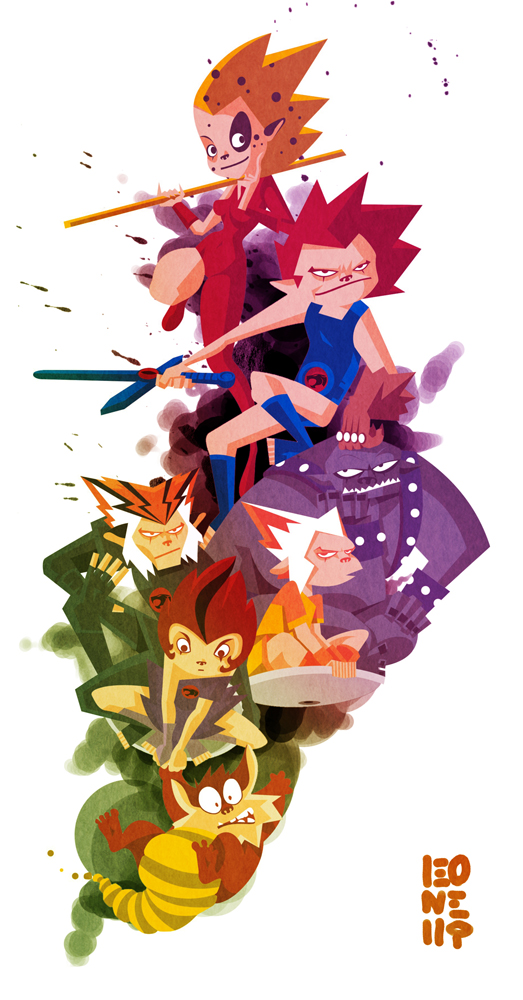 Thundercats by Pe-u