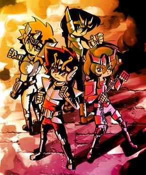 Cavaleiros do Zodiaco by Pe-u
