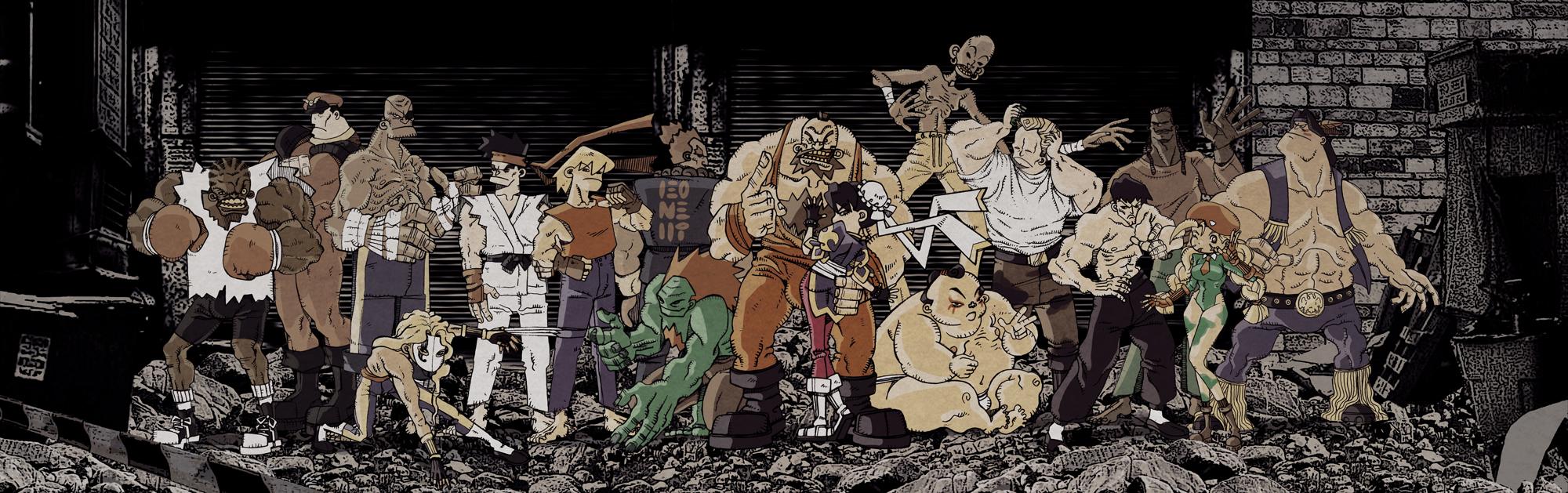 Super Street Fighter II by Pe-u
