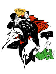 superman by Pe-u