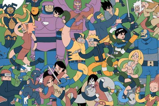 Ninjas Vs Mutantes