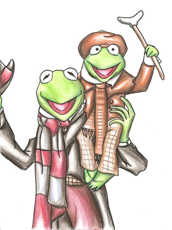 Kermit and tiny tim by Idigoddpairings on DeviantArt