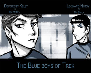 The Blue boys of Trek by Idigoddpairings