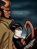 HellboyX John by Idigoddpairings
