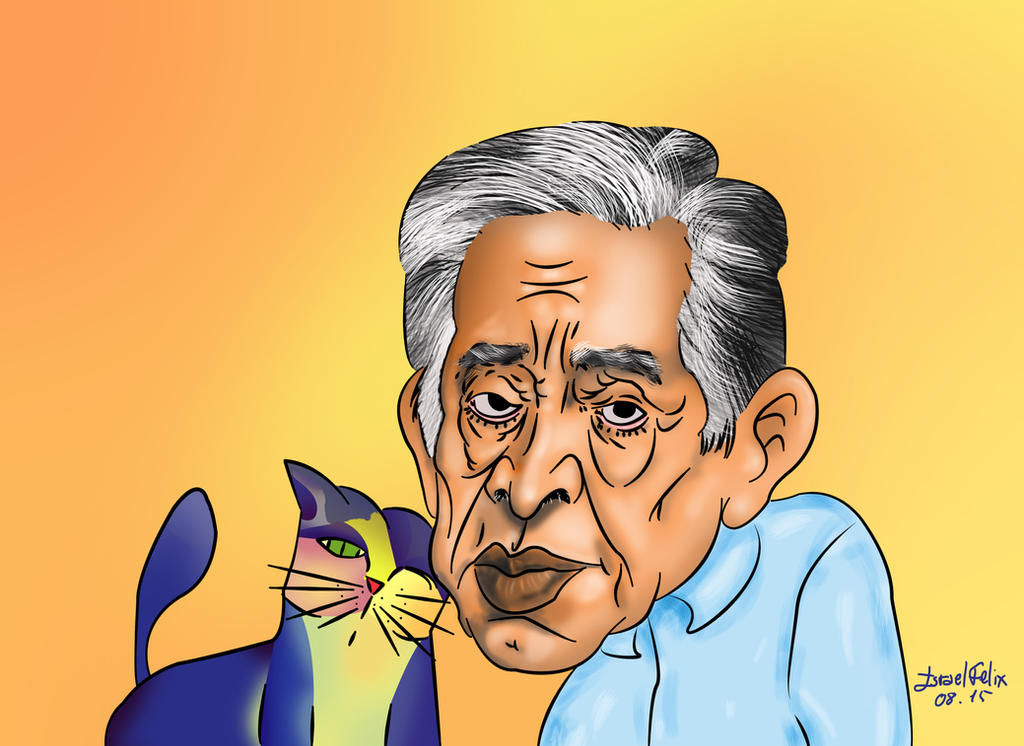 Caricatura de Aldemir Martins by IsraelFelix