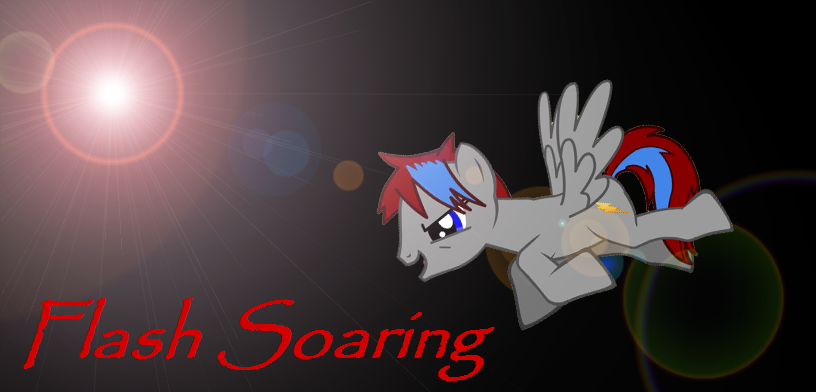 Flash Soaring At The Rainbow Factory By Umithemusicalpony