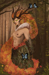 Yavanna by IanBlackburn
