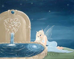 Magic Fountain by cageddreams