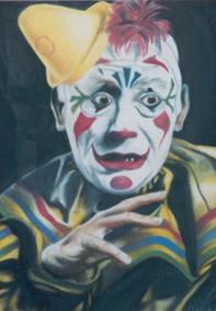 Laugh Clown Laugh by Sylent-Fantome