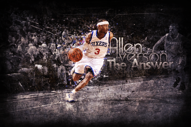 Allen Iverson The Answer By Grimeer