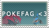 PokeFag .:stamp:. by 8BitSound