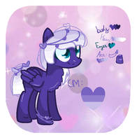 Purple Hearts Refrence sheet + Redsign by S-CoreS