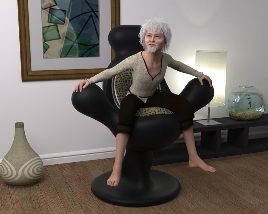 Mr Suzukiu0027s Big Comfy Chair By Macronaut ...