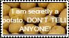 Potato Stamp by TheStampMachine