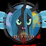 MLP Icon - Diablo 3 w/ Queen Chrysalis