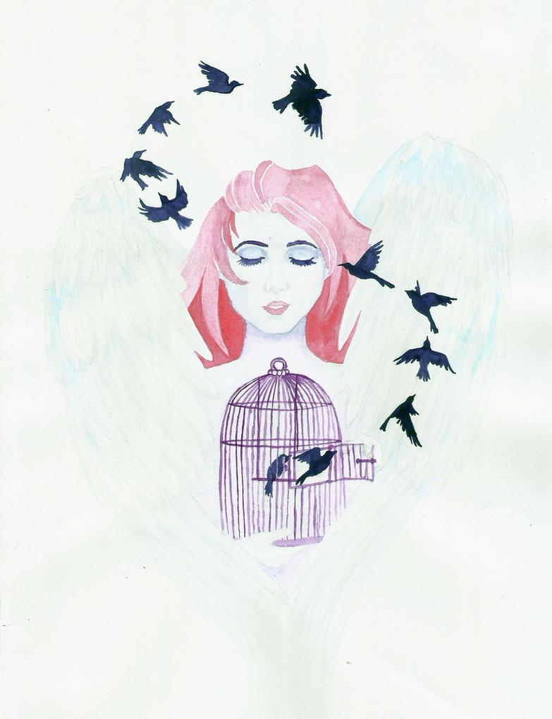 An Angel by sofeazlan