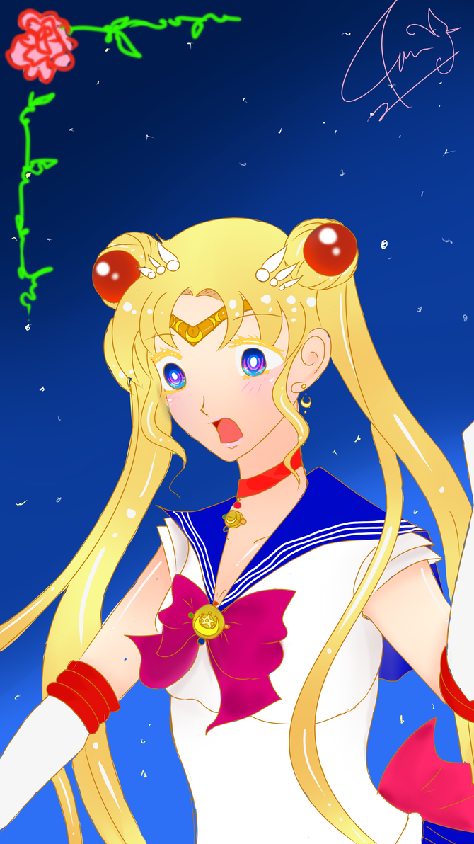[Fan art] Sailor Moon by azophi
