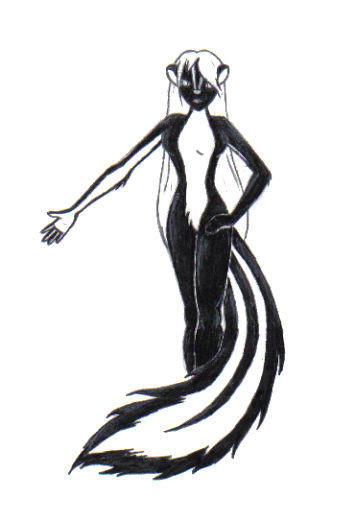Skunk Anthro? O.o: by pantheros on DeviantArt