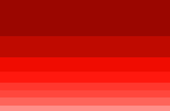 Shades Of Color Red By Hydrokineticc On Deviantart