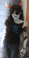 my Vriska Serket cosplay ::::)