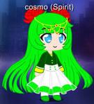 Cosmo as a spirit