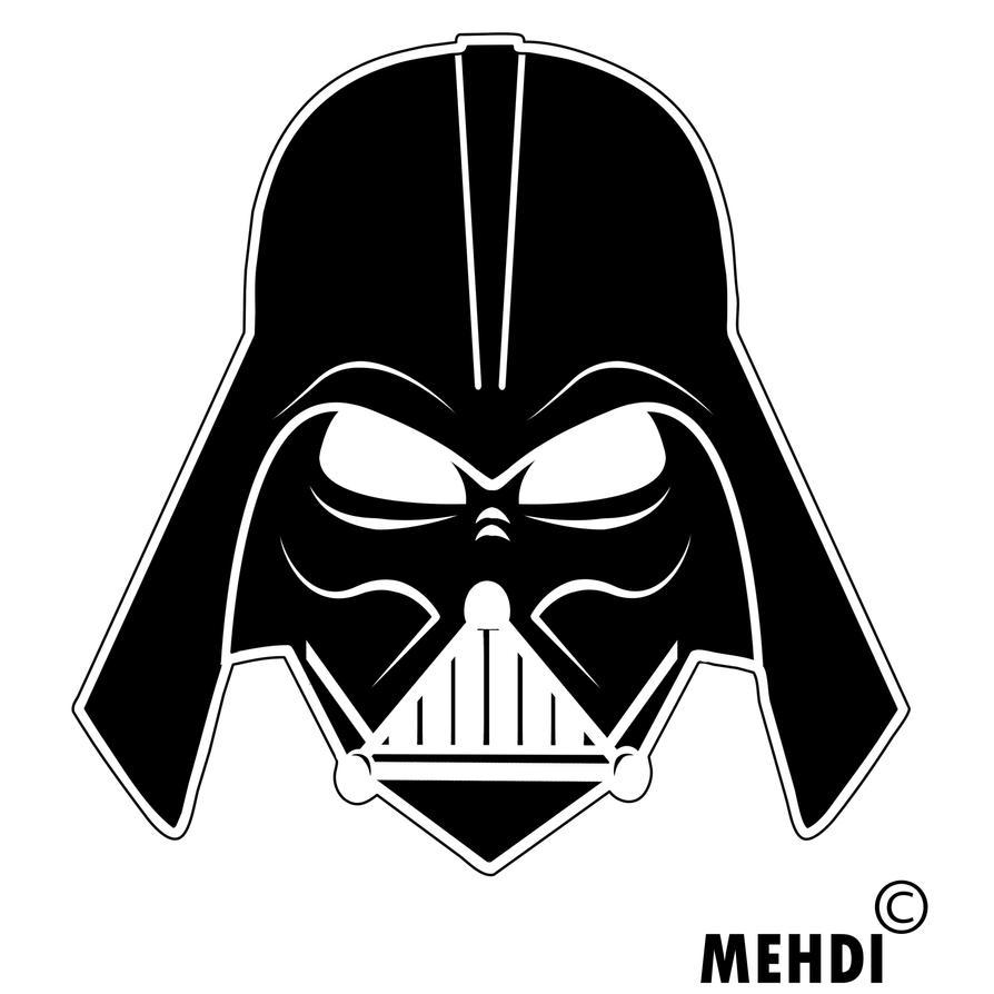 Darth Vader Helmet Template For Print Amp Instruction