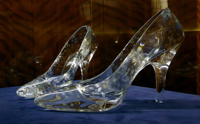 Glass slippers at Dartington Crystal by Points2018