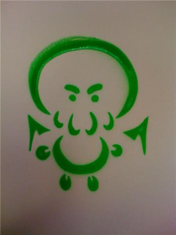 Cthulhu Stencil