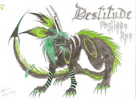 Destitude coloriee by Myusuran-blackwolf